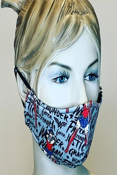 Andrea Bijoux Cotton Covering Mask - Alternate List Image