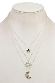 Andrea Bijoux Three In One Pendant Necklace - Front cropped