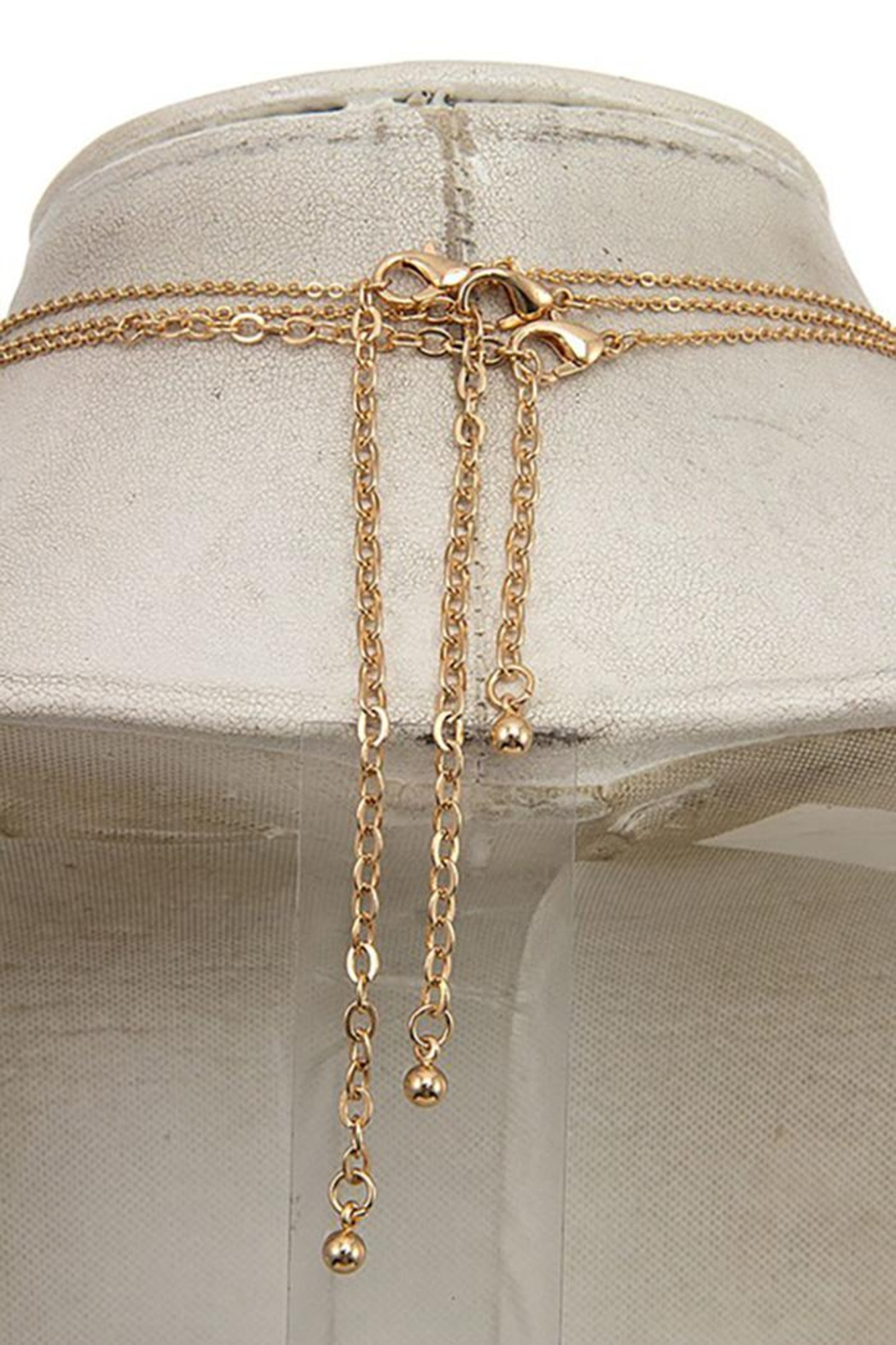 Andrea Bijoux Three In One Pendant Necklace - Back Cropped Image