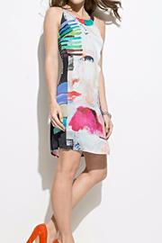 Andrea Martiny Abstract Print Dress - Front cropped