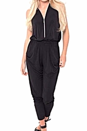 Andrea Martiny Black Jumpsuit - Product Mini Image