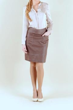 Shoptiques Product: Brown Skirt