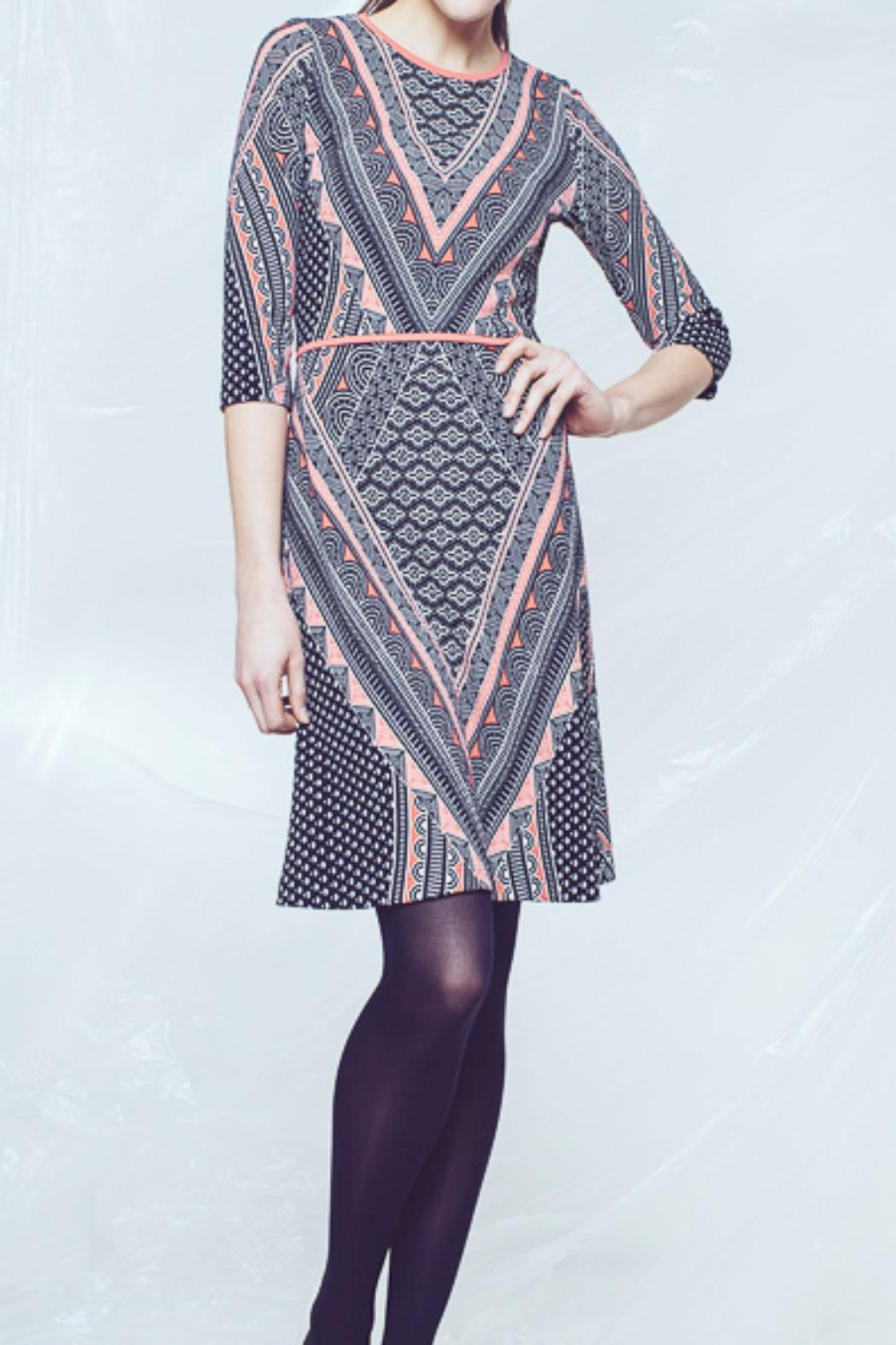 Andrea Martiny Fit And Flare Dress - Main Image