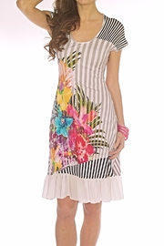 Andrea Martiny Floral Print Dress - Product Mini Image