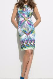 Andrea Martiny Print Sheath Dress - Front cropped