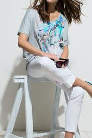 Andrea Martiny Printed Top - Product Mini Image
