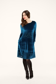 Andrea Martiny Velvet Dress - Product Mini Image