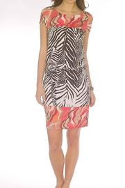 Andrea Martiny Zebra Print Dress - Product Mini Image