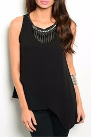 Andree Asymmetrical Sleeveless Top - Product Mini Image