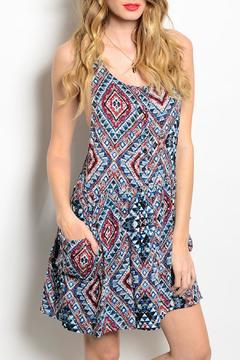 Shoptiques Product: Aztec Pockets Dress