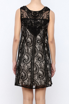 Shoptiques Product: Black Lace Dress