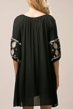 Shoptiques Product: Black Peasant Dress