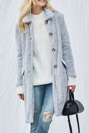 Andree Demi Sherpa Overcoat - Product Mini Image
