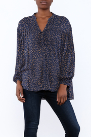 Andree Floral Button Down Blouse - Product Mini Image