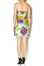 Andree Floral Strapless Dress - Side cropped