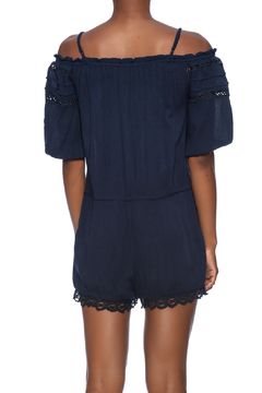 Shoptiques Product: Open Shoulder Romper