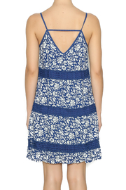 Andree Mini Floral Printed Dress - Back cropped