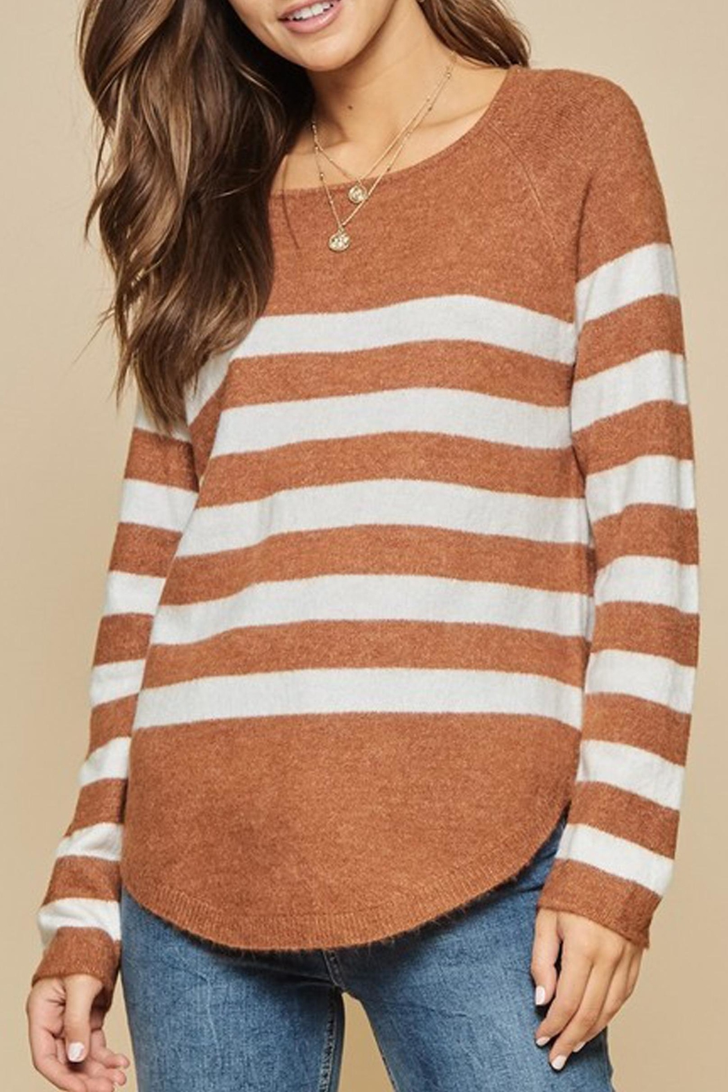 Andree The Breck Striped-Sweater - Main Image