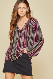 Andree by Unit Balloon Sleeve Long Sleeve Top - Other