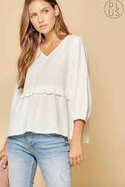 Andree by Unit Blouse With Ruffle - Product Mini Image