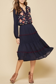 Andree by Unit Bohemian Embroidered Dress - Product Mini Image
