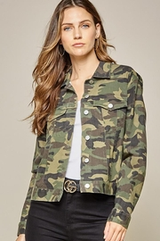 Andree by Unit Camo Jacket Embroidery Detail - Other