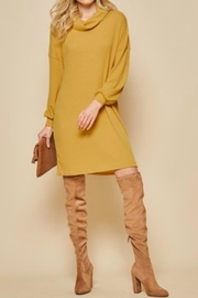 Andree by Unit Cowl-Neck Tunic/dress - Front cropped