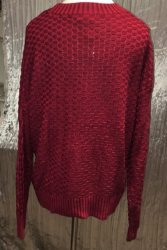 Andree by Unit Crimson Cable Knit Sweater - Alternate List Image