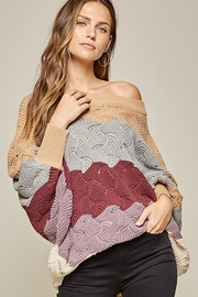 Andree by Unit Dolman Sleeves Oversized Fit Sweater - Other