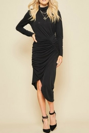 Andree by Unit Dressy Ruched Dress - Product Mini Image