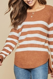Andree by Unit Easy Stripe Knit - Product Mini Image
