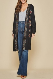 Andree by Unit Embroidered Cardigan - Product Mini Image