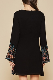 Andree by Unit Embroidered Flare Dress - Front full body