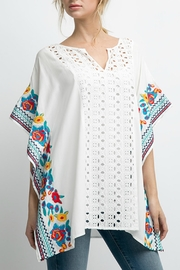 Andree by Unit Embroidery Poncho - Product Mini Image