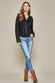 Andree by Unit Faux Suede Motto Jacket - Other