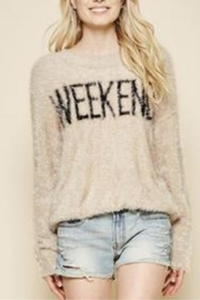 Andree by Unit Fuzzy Weekend Sweater - Product Mini Image