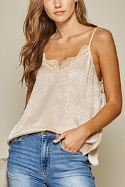 Andree by Unit Lace Satin Cami-Top - Product Mini Image