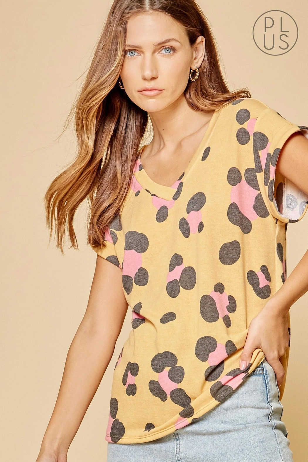 Andree by Unit Leopard Print Top - Main Image