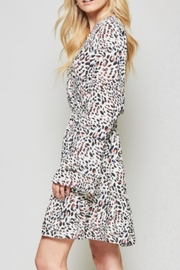 Andree by Unit Leopard Silky Dress - Side cropped