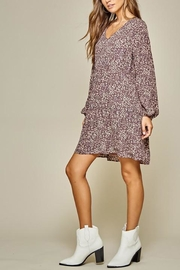 Andree by Unit Leopard Tiered Shift-Dress - Other