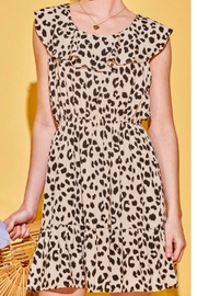 Andree by Unit Little Leopard Dress - Front cropped