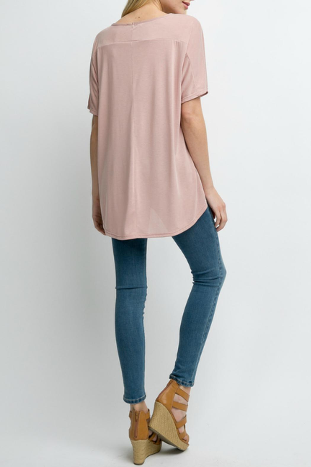 Andree by Unit Modal Tunic Top - Front Full Image