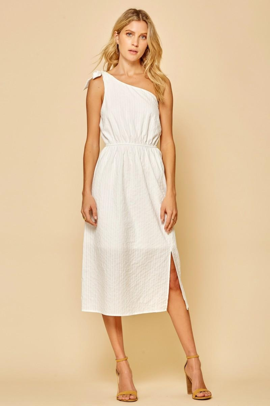 Andree by Unit One-Shoulder Midi Dress - Main Image