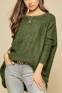 Andree by Unit Oversized Off-Shoulder Sweater - Product List Image