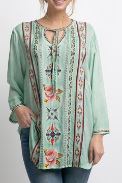 Shoptiques Product: Placid Embroidered Top