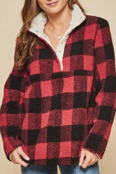 Andree by Unit Plaid Sherpa - Alternate List Image