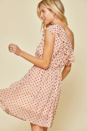 Andree by Unit Polka-Dot One-Shoulder Dress - Front full body