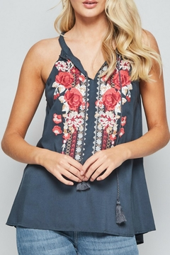 3427a79bfbe ... Andree by Unit Sleeveless Embroidered Top - Product List Image