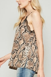 Andree by Unit Snake Lace Camisole - Front full body