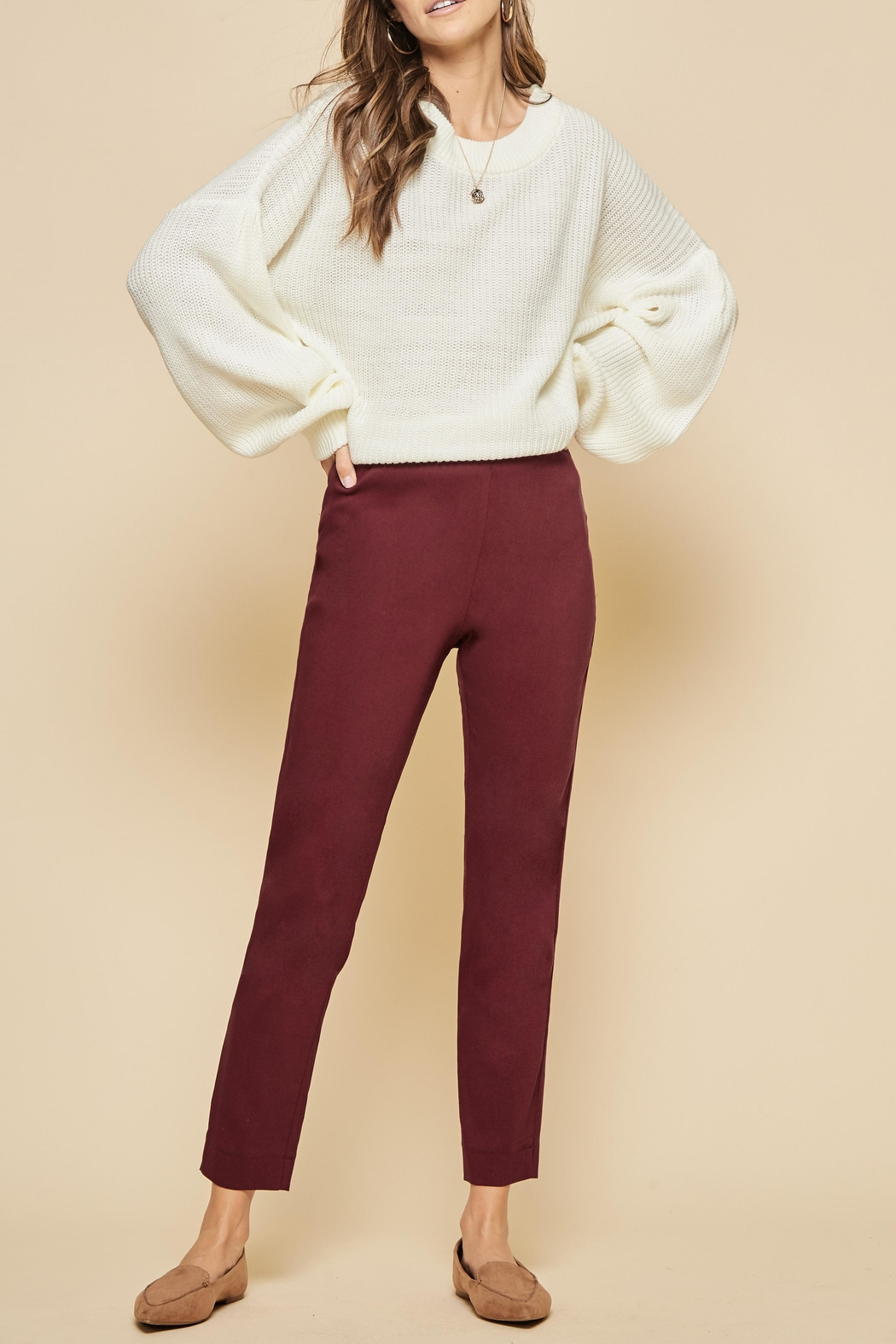 Andree by Unit Stretch Cotton Leggings - Main Image
